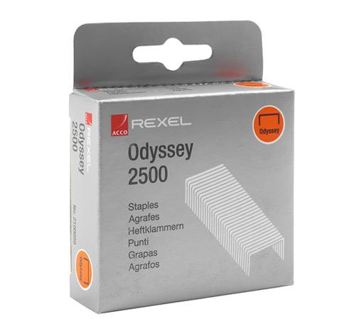 Zszywki Odyssey (9mm), 2500szt.