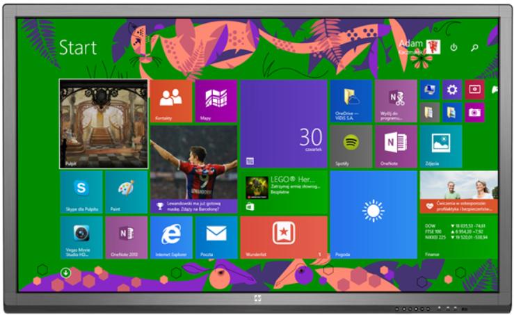 Monitor interaktywny Avtek TouchScreen 84 Pro z komputerem