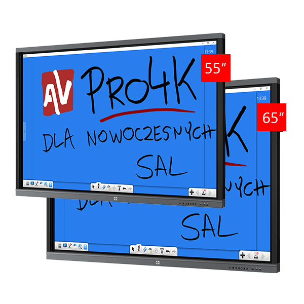 Zestaw Monitor 2 (Avtek TouchScreen 55 Pro4K, Avtek TouchScreen 65 Pro4K)