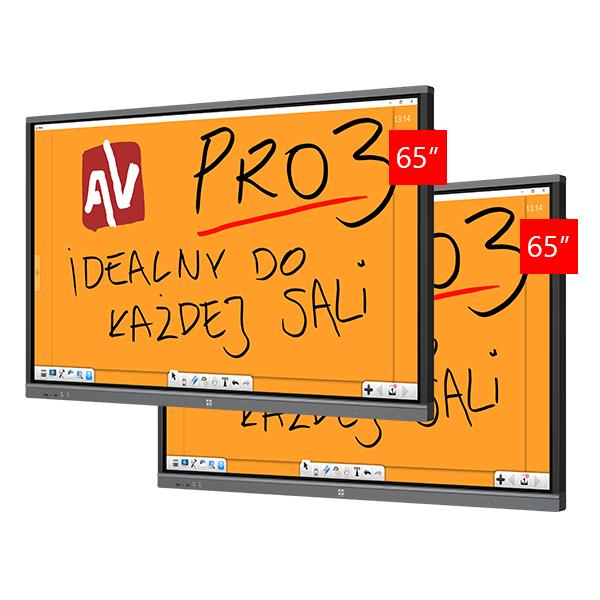 Zestaw Monitor 3 (2x Avtek TouchScreen 65 Pro3)