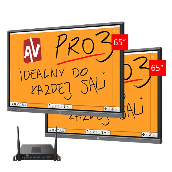 Zestaw Monitor 6 (2x Avtek TouchScreen 65 Pro3, 2x Avtek OPS Pro4K Celeron)