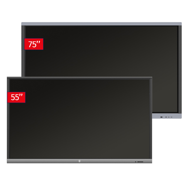 Zestaw Monitor 8 (Monitor interaktywny Avtek TouchScreen 5 Lite 55 +Monitor interaktywny Avtek TouchScreen 5 Connect 75)